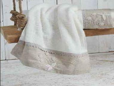 المنشفة العضوية ايكو كوتون  ايلاز - ابيض